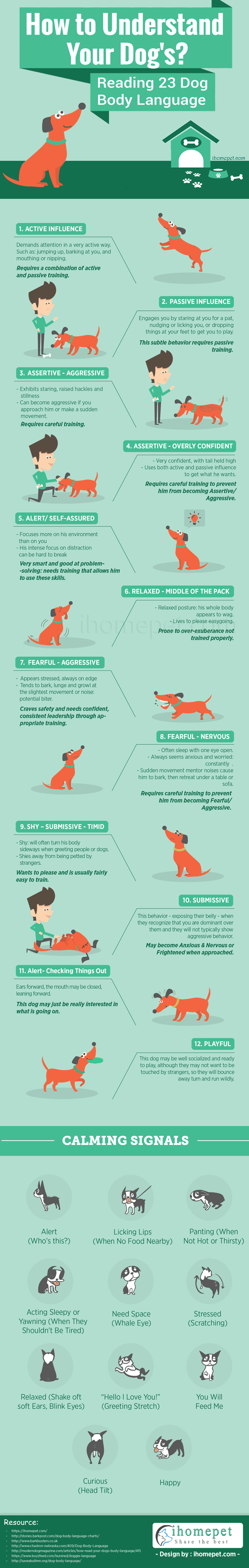 [Infographic] How to Understand Dog Body Language
