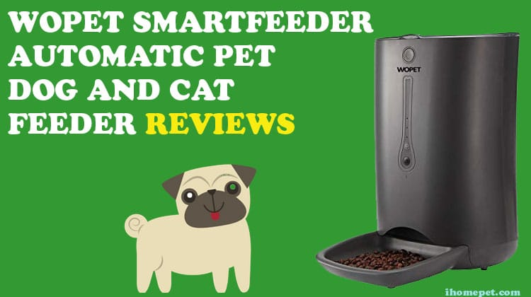 WOpet SmartFeeder Automatic Pet Dog and Cat Feeder
