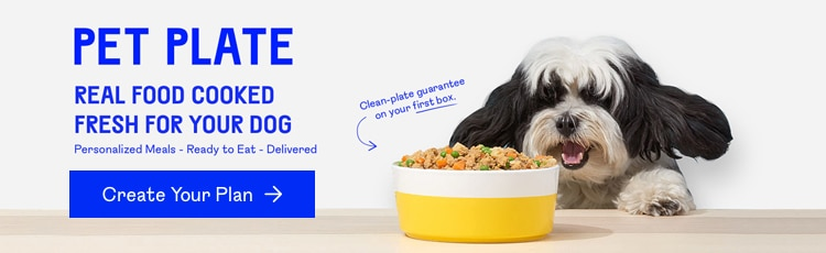 Find a meal plan using Pet Plate